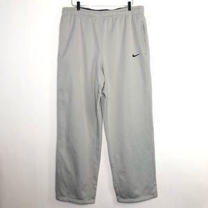 NIKE Therma-Fit Elastic Waist Pants Gray XXL